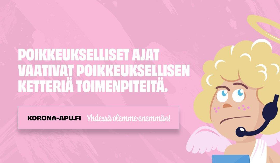 Korona-apu.fi palveluksessanne!